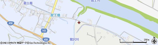 山形県寒河江市中郷沢向84周辺の地図