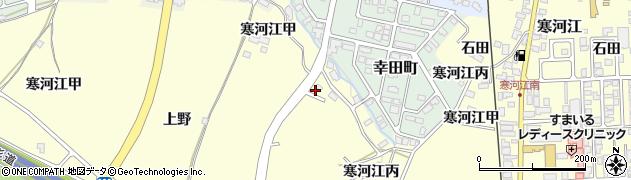山形県寒河江市寒河江丙1952周辺の地図