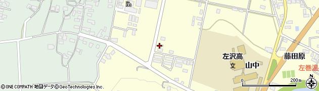 山形県西村山郡大江町藤田586周辺の地図