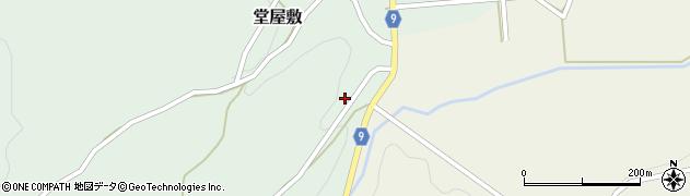 山形県西村山郡大江町堂屋敷350周辺の地図