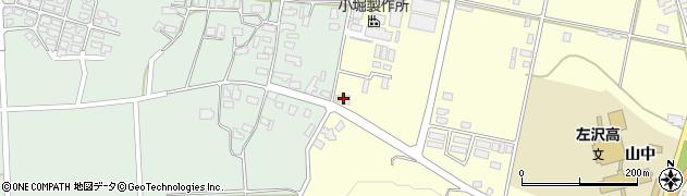 山形県西村山郡大江町藤田610周辺の地図