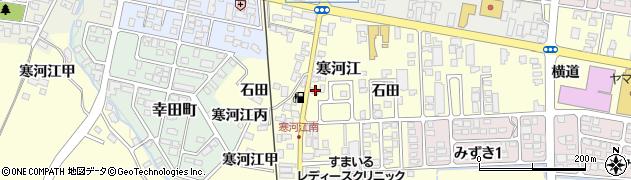 山形県寒河江市寒河江甲3133周辺の地図