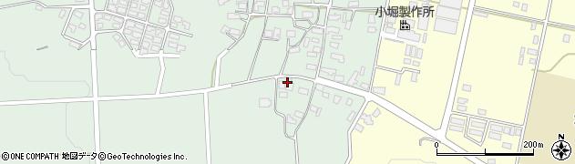 山形県西村山郡大江町小見118周辺の地図