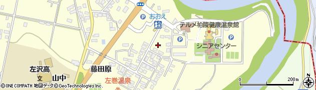 山形県西村山郡大江町藤田300周辺の地図