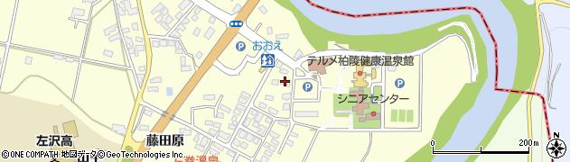 山形県西村山郡大江町藤田281周辺の地図