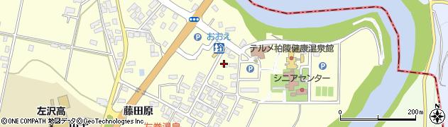 山形県西村山郡大江町藤田260周辺の地図