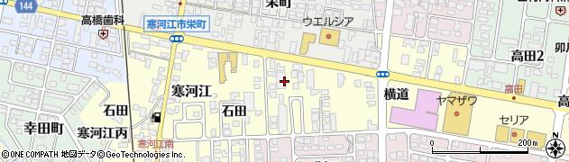 山形県寒河江市寒河江横道10周辺の地図
