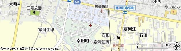 山形県寒河江市幸田町5周辺の地図