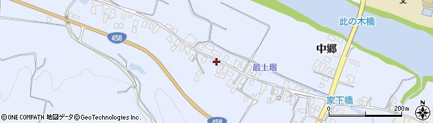 山形県寒河江市中郷513周辺の地図