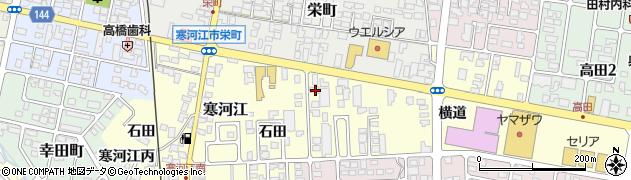 山形県寒河江市寒河江石田33周辺の地図