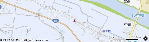 山形県寒河江市中郷532周辺の地図