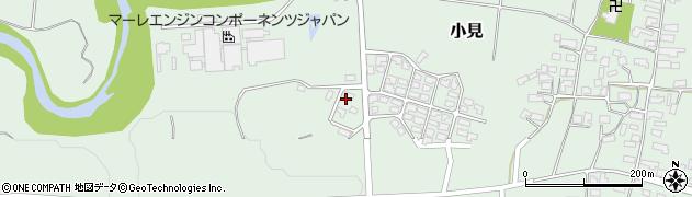山形県西村山郡大江町小見675周辺の地図