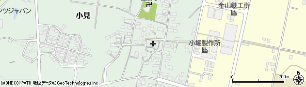山形県西村山郡大江町小見288周辺の地図