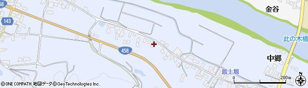 山形県寒河江市中郷534周辺の地図