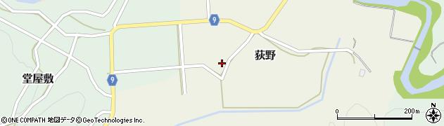 山形県西村山郡大江町荻野53周辺の地図
