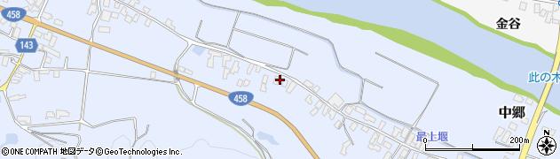 山形県寒河江市中郷537周辺の地図