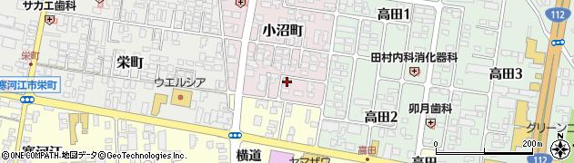 山形県寒河江市小沼町163周辺の地図