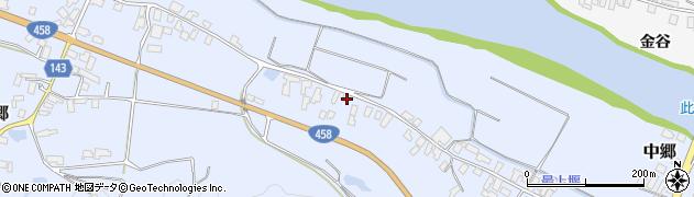 山形県寒河江市中郷540周辺の地図