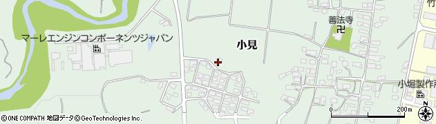 山形県西村山郡大江町小見680周辺の地図