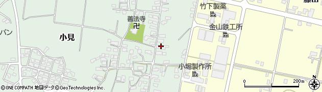 山形県西村山郡大江町小見216周辺の地図