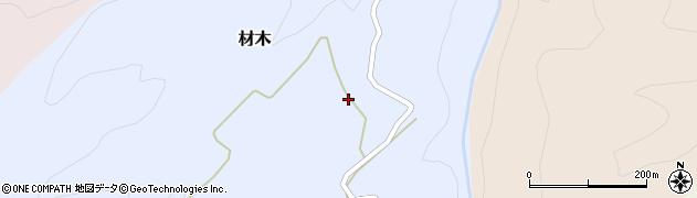 山形県西村山郡大江町材木96周辺の地図