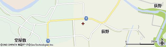 山形県西村山郡大江町荻野635周辺の地図