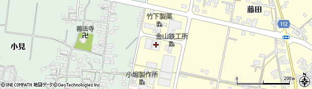 山形県西村山郡大江町藤田799周辺の地図