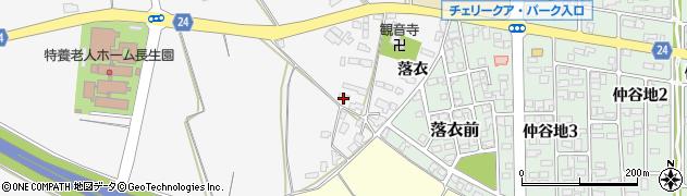 山形県寒河江市柴橋2482周辺の地図