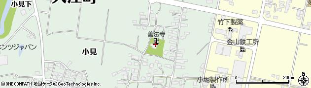 山形県西村山郡大江町小見222周辺の地図