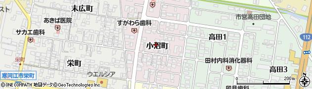 山形県寒河江市小沼町31周辺の地図