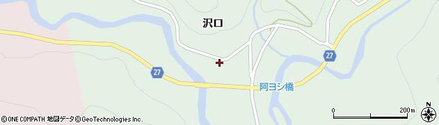 山形県西村山郡大江町沢口71周辺の地図