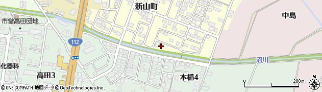 山形県寒河江市新山町68周辺の地図