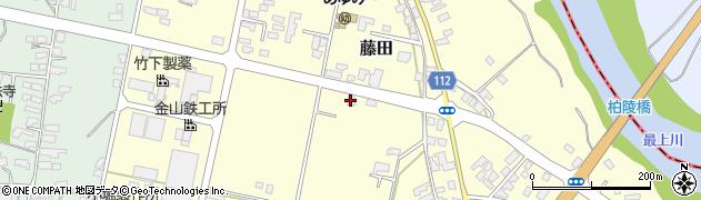 山形県西村山郡大江町藤田536周辺の地図