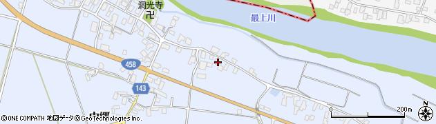 山形県寒河江市中郷586周辺の地図