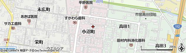 山形県寒河江市小沼町158周辺の地図