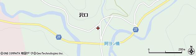 山形県西村山郡大江町沢口21周辺の地図