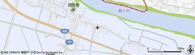 山形県寒河江市中郷611周辺の地図