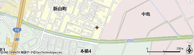 山形県寒河江市新山町63周辺の地図