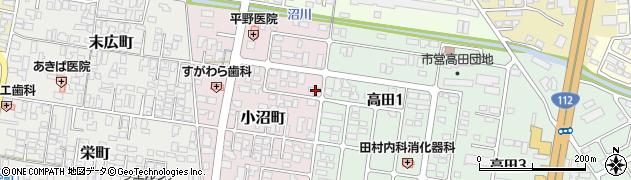 山形県寒河江市小沼町146周辺の地図