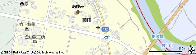 山形県西村山郡大江町藤田378周辺の地図