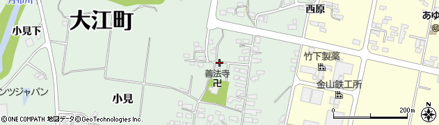 山形県西村山郡大江町小見275周辺の地図