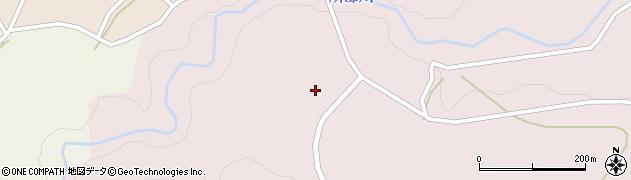 山形県西村山郡大江町塩野平126周辺の地図