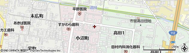 山形県寒河江市小沼町143周辺の地図