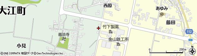 山形県西村山郡大江町小見67周辺の地図