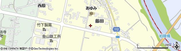 山形県西村山郡大江町藤田404周辺の地図