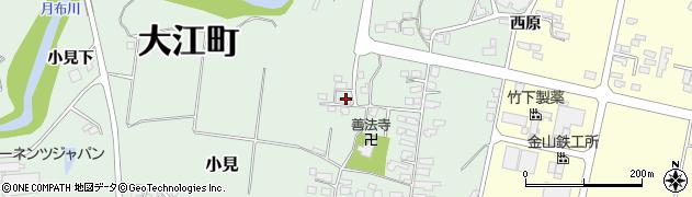 山形県西村山郡大江町小見270周辺の地図