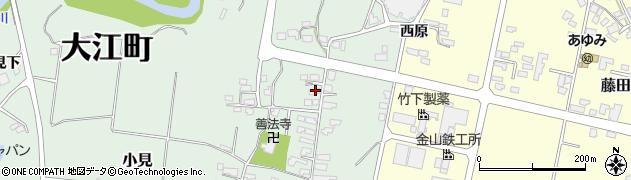 山形県西村山郡大江町小見234周辺の地図