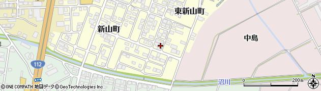 山形県寒河江市東新山町221周辺の地図
