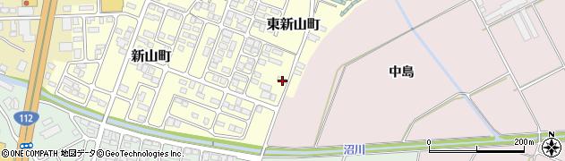 山形県寒河江市東新山町243周辺の地図