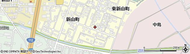 山形県寒河江市東新山町203周辺の地図